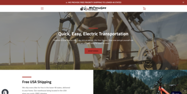 Electric Bike e-Commerce Store