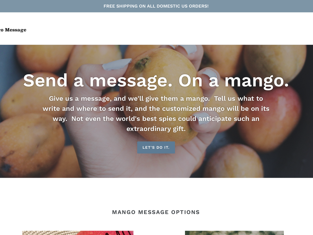 Mango Message