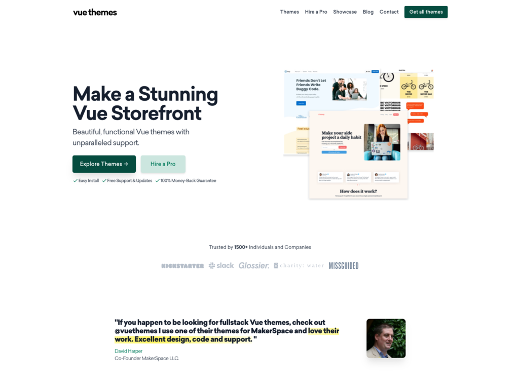 Theme & Template Marketplace