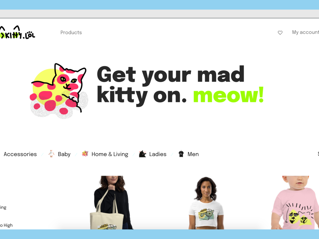 Fully Automated Ecommerce Store for Cat Lovers