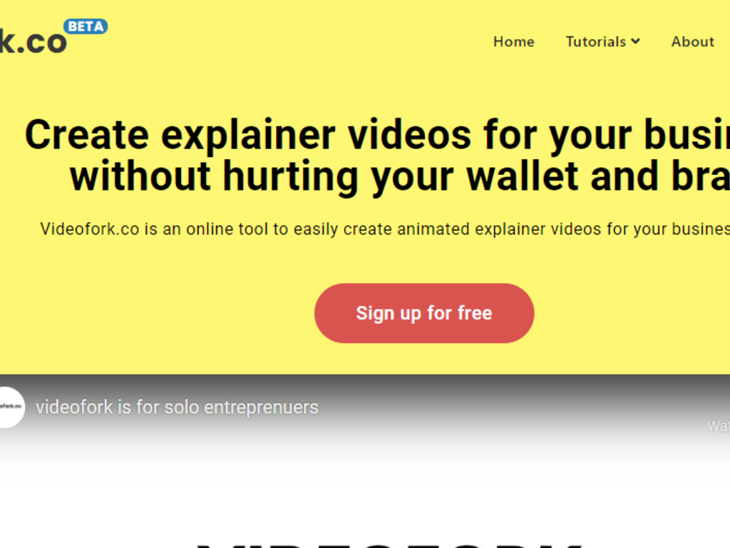 Online Tool to Create Animated Explainer Videos