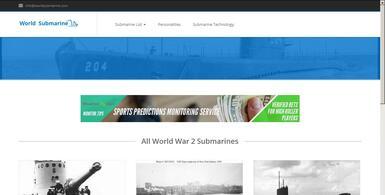 Passive Income World War II Submarine Site