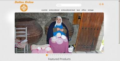 Handmade Doilies eCommerce Site