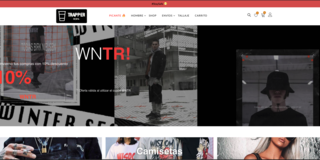 Trap Hip Hop Fashion and Culture Website.