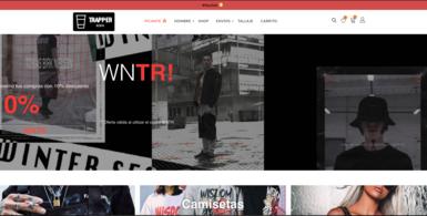 Trap Hip Hop Fashion and Culture Website.