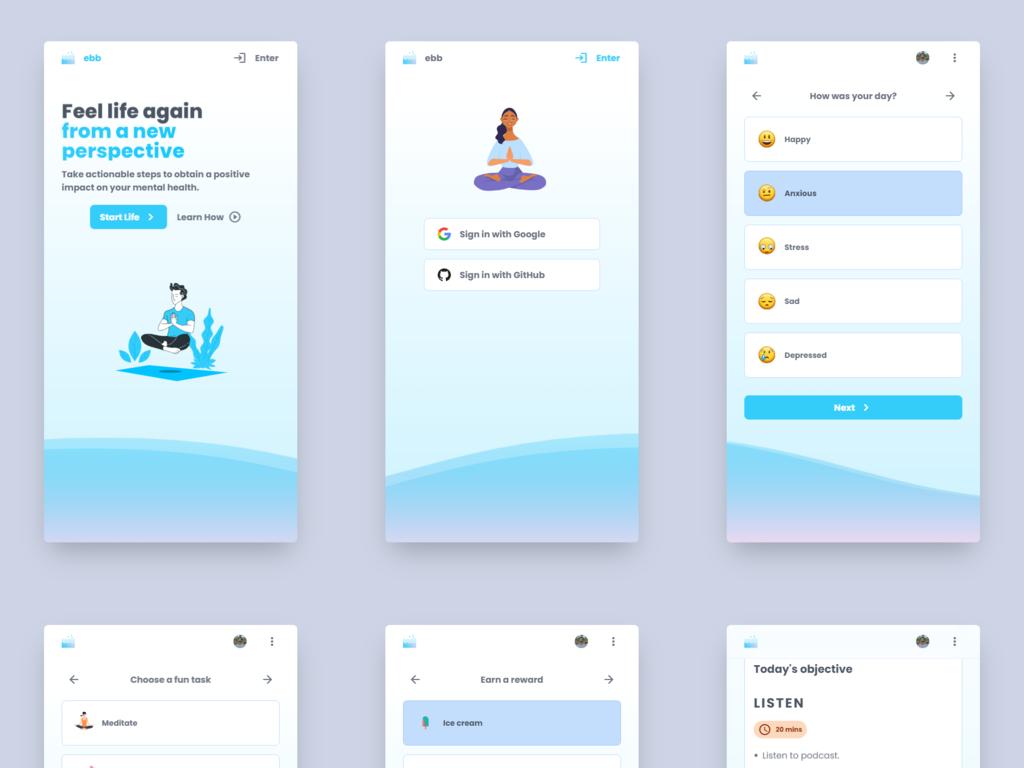 Mental Health Web App