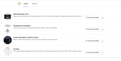 A Product Hunt for Course Creators