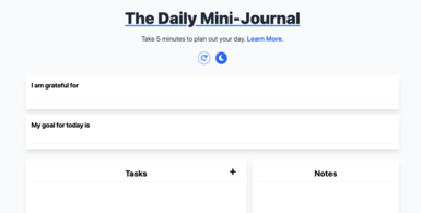 Minimal Notes Tool