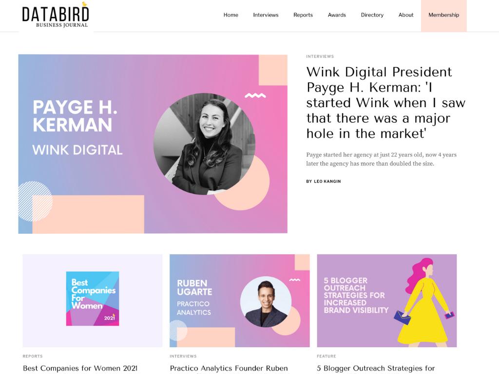 Website for Underrepresented Entrepreneurs