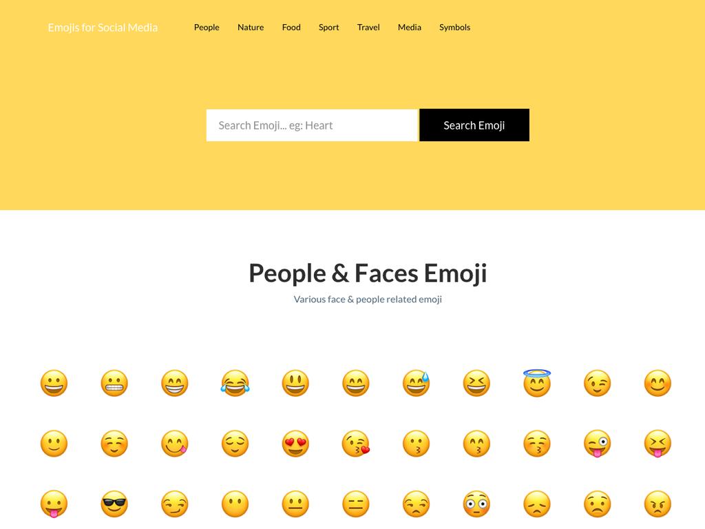 Emojis.Social