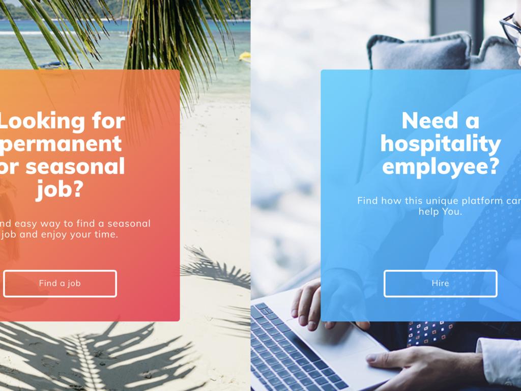 Hospitality Sector Job Platform