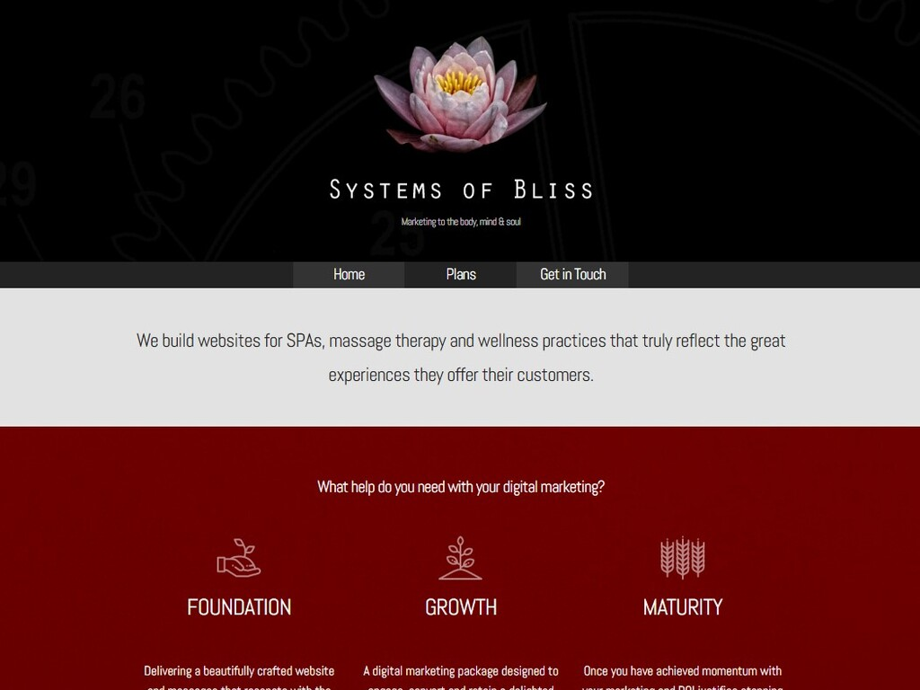 Systems of Bliss