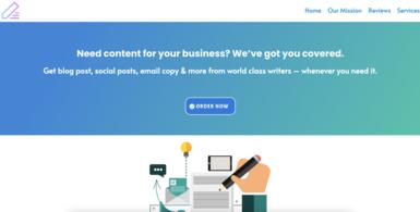 Content Management Agency Starter Website
