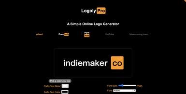 Simple Online Logo Generator