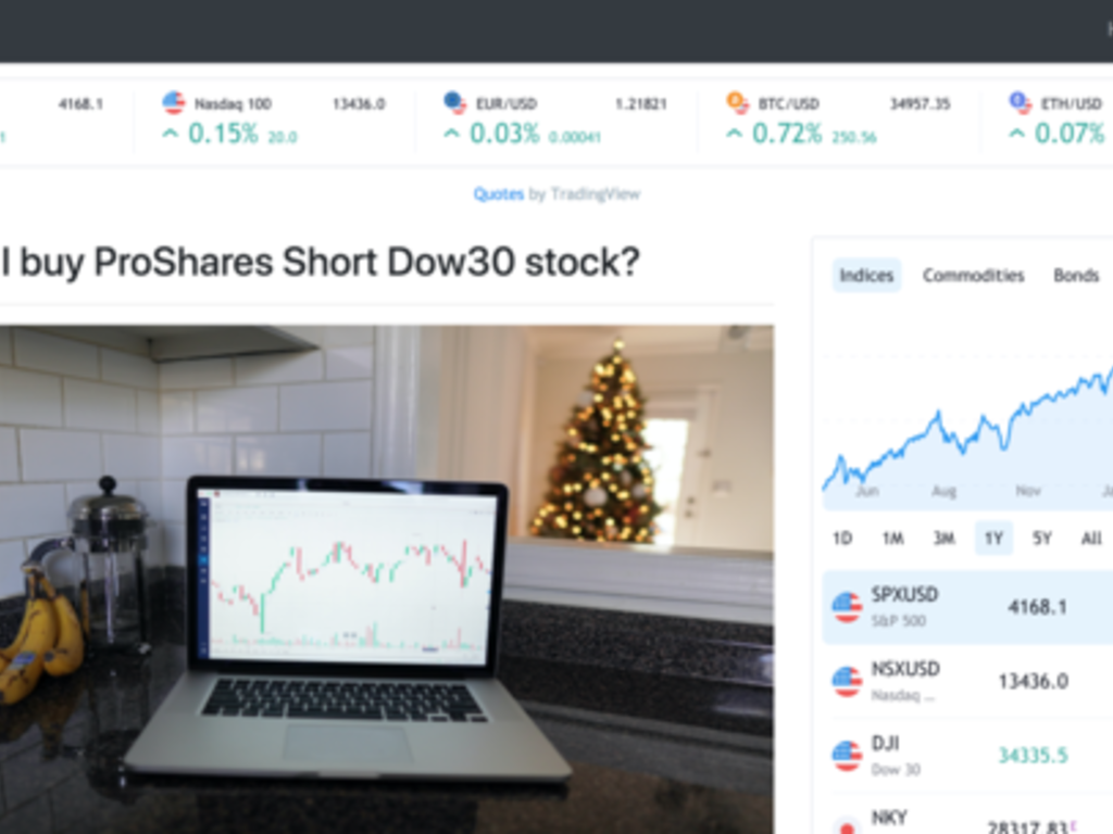 Automated Trending Stocks Blog