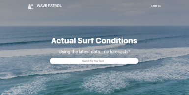 Data-driven Surf Reports