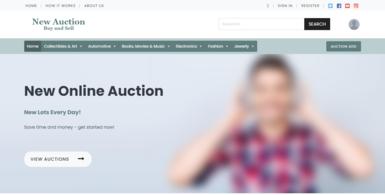 Starter Auction Website