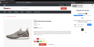 Foot Analysis Software for e-Commerce Stores