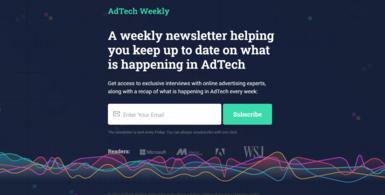 AdTech Executive Newsletter