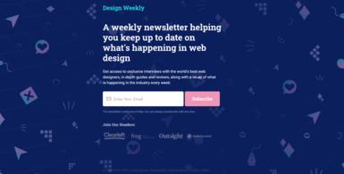 Design Weekly Newsletter