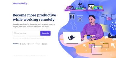 Remote Working Newsletter