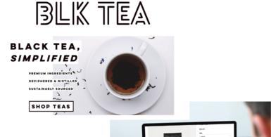Loose-Leaf Black Tea Dropshipping eCommerce Store