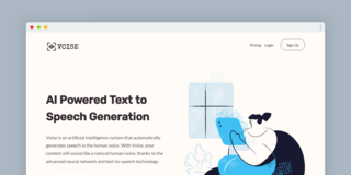 AI Powered Text to Speech Generation