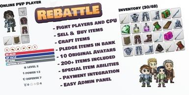 Online PVP Browser Game Platform
