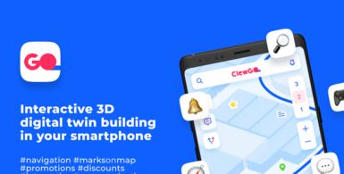 Interactive 3D Digital Twin Building in Your Smartphone