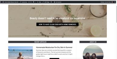 Home Made Beauty Secrets Starter Blog