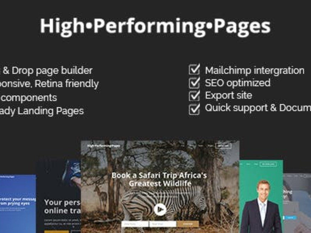 High Performing Pages