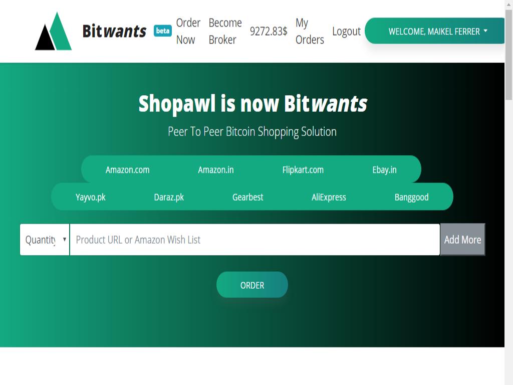 Bitwants