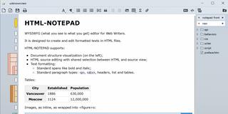 HTML Notepad